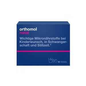 Orthomol Natal granulat + kapsułki.
