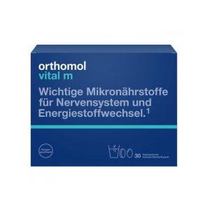 Orthomol Vital M 30 granulat+kapsułki+tabletki