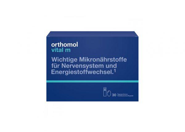 Orthomol Vital M ampułka+kapsułki 30 szt.