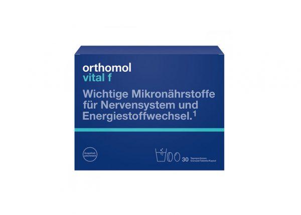 Orthomol VitalF granulat + kapsułki + tabletki 30 porcji.