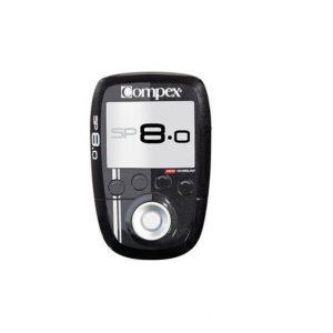 Elektrostymulator COMPEX SP 8.0 to Regeneracja, Wydolność, Siła, Wytrzymałość, Zapobieganie kontuzjom oraz Ulga w bólu. Stymulator bezprzewodowy SP8.0 to produkt najwyższej klasy, zaprojektowany dla sportowców regularnie trenujących i biorących udział w zawodach. Wyposażony jest również w zupełnie nowy system MI-Autorange, zapewniający zwiększoną skuteczność pracy.
