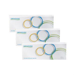 ORTHOVISC15mg/ml,2ml to preparat który zmniejsza ból i poprawia sprawność ruchową już po trzech iniekcjach.