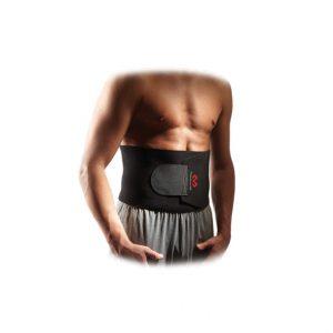 McDavid - Regulowany Pas Odchudzający. Dający się regulować ochraniacz talii/pleców amortyzuje, daje kompresję i podtrzymuje, jednocześnie zapewniając terapeutyczne ciepło.
