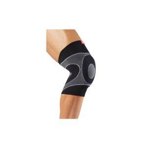 McDavid - Ochraniacz Stawu Kolanowego elastic. Najlepszy dla umiarkowanego wsparcia przynoszącego ulgę w bólu spowodowanym zapaleniem stawów, kaletek maziowych i ścięgien.