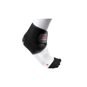 McDavid - Opaska na Staw Skokowy. Podstawowy stopień ochrony, umożliwiający ochronę w przypadkach niezbyt intensywnego bólu w kostce, słabych kostek, umiarkowanych zwichnięć nogi w kostce, drobnych niestabilności kostki, reumatoidalnego zapalenia stawów, zapalenia kaletki, zapalenia ścięgien.