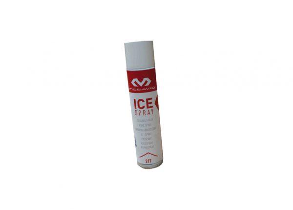 McDavid ICE SPRAY 300ml jest środkiem znieczulającym, przeznaczonym dla sportowców, łagodzącym skutki kontuzji, zwichnięć stawów, stłuczeń mięśni i innych urazów.