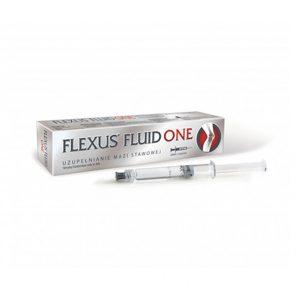 Flexus Fluid One 20mg/ml, 3ml to wyrób medyczny klasy I, tylko jedna iniekcja w cyklu leczenia, opatentowane sieciowanie 2% kwasu hialuronowego, wyraźna redukcja dolegliwości stawowych – od 9 do 12 miesięcy, zastosowanie także do dużych stawów.