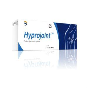 HYPROJOINT to żel dostawowy (ampułkostrzykawka) w ilości 2,5ml/25mg - zawiera 1% kwasu hialuronowego Kwas hialuronowy jest naturalną substancją w organizmie, która spełnia ważne funkcje w wielu narządach, takich jak stawy, oko czy skóra.