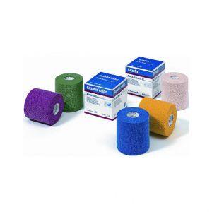 BSN Medical - Gazofix color. Samoprzylepna elastyczna i mocna pianka ochraniająca skórę może być zastosowana w świetny sposób pod taśmy sztywne lub elastyczne oraz jako podkład pod opatrunki. Nie zawiera kleju.