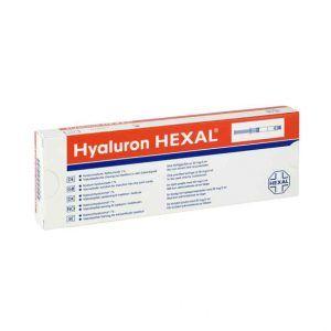 HYALURON HEXAL 20MG/2ML jest to gotowy roztwór soli sodowej kwasu hialuronowego.