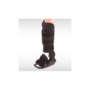 BREG-BUT ORTOPEDYCZNY ACHILLES HITOP BOOT. Wysoka konstrukcja ze specjalnie zaprojektowanymi klinami zabezpiecza przed rozciąganiem ścięgna Achillesa.