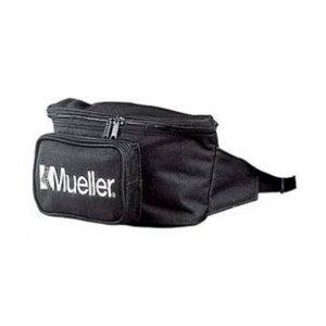Mueller TORBA NA BIODRA. Wodoodporna, duże wygodne przegródki. Doskonale pasuje na biodra. Kieszeń główna zawiera 5 komór.