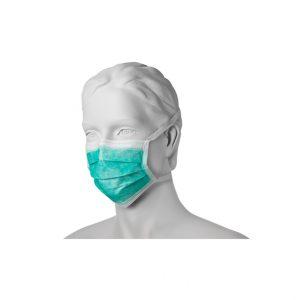 Maska chirurgiczna trzywarstwowa.