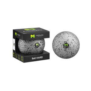 MOVO ® Ball HARD to wielozadaniowy przyrząd do głębokiego automasażu (maksymalna twardość – minimalna sprężystość pod naciskiem palców 1 mm).
