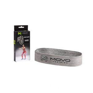 MOVO ® Mini Band HARD to taśma, która jest doskonałym narzędziem do treningu mobilności i stabilności.