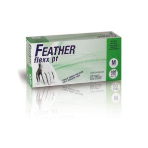 Rękawice bez pudrowe winylowe Feather Flexx PF
