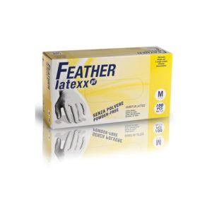 Rękawice bez pudrowe lateksowe Feather Latexx