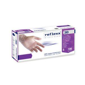 Rękawice winylowe w proszku Reflexx 30