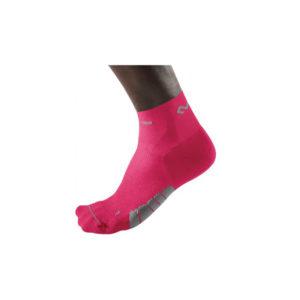 Mcdavid - skarpety kompresyjne active runner socks low- cut (różowe) / 8833