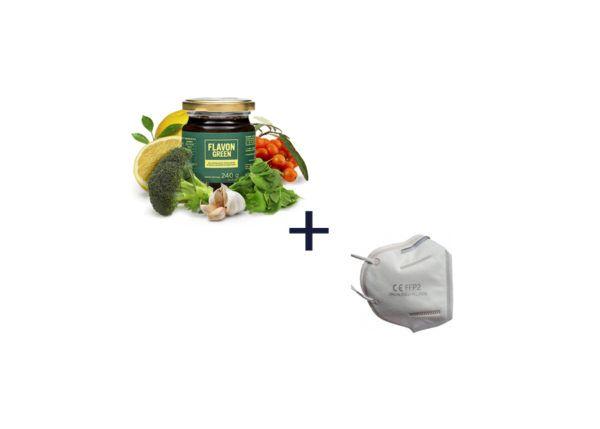 flavon green + maska