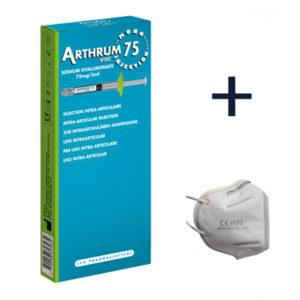 Arthrum + maseczka FFP2