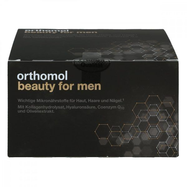 Orthomol beauty men ampułki do picia